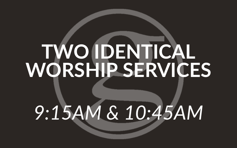 Return to Two Identical Worship Services