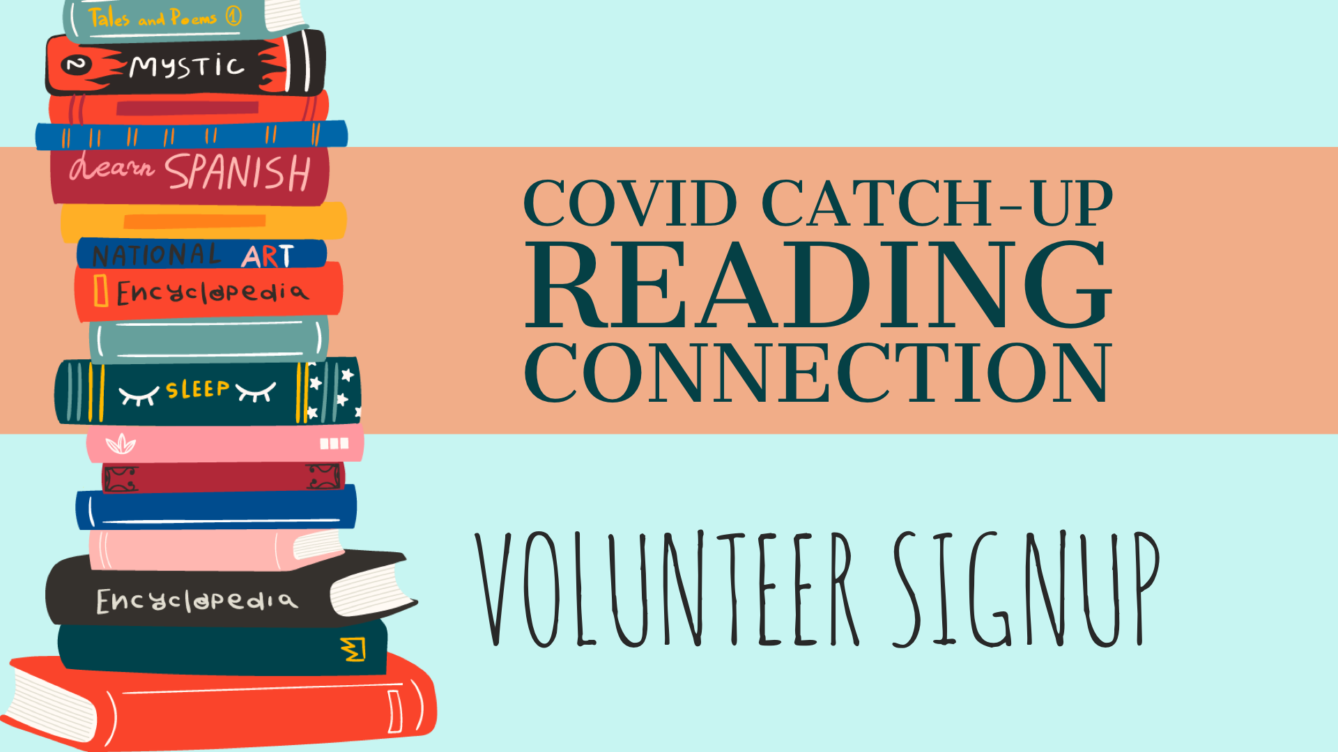 Covid Catch-Up Reading Connection - Volunteer Form