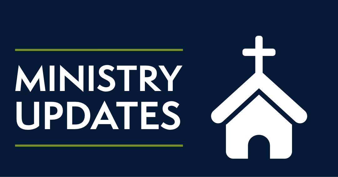 Ministry Updates Due to COVID-19